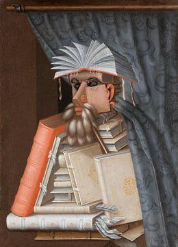 Der Bibliothekar, Giuseppe Arcimboldo,