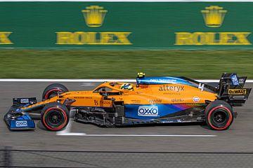 Lando Norris F1 GP Spa 2021 von Ann Barrois