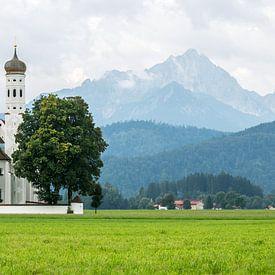 St. Coloman Eglise à Schwangau sur MS Fotografie | Marc van der Stelt
