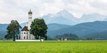 St. Colomanskerk in Schwangau van MS Fotografie | Marc van der Stelt