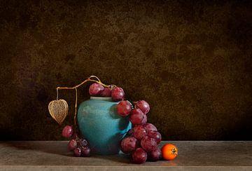 Stilleven met druiven II van Corinne Welp