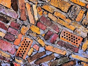 Gute Kunst aus Stein (Formen und Farben Ziegel) von Caroline Lichthart