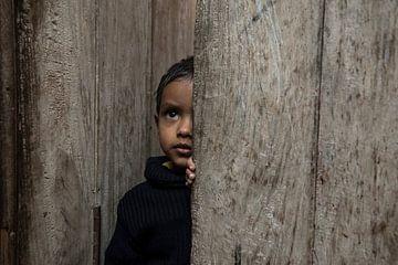 India Kind portret van Annet van Esch