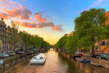 SIngel rondvaart Amsterdam sur