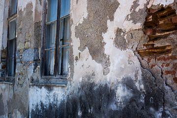 Alt gelebt durch Wand von Gerryke van der Graaf