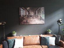 Klantfoto: The Factory.. van Cindy van Hartingsveldt, op canvas