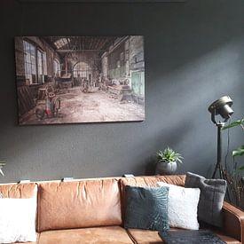 Kundenfoto: The Factory.. von Cindy van Hartingsveldt, auf leinwand
