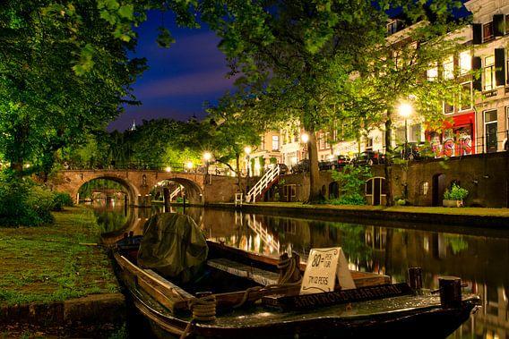 Utrecht Oudegracht: bij Geertebrug