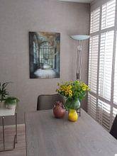 Photo de nos clients: Diepte sur Wim van de Water, sur toile