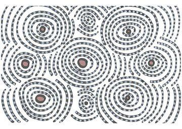 Verstärkte Kreise von Julien Willems Ettori
