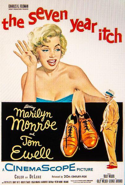 Marilyn Monroe The Seven Year Itch van Brian Morgan