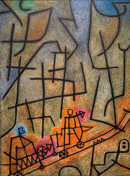 Paul Klee, Verovering van de berg, 1939 van Atelier Liesjes