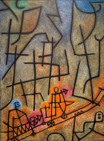 Paul Klee, Eroberung des Berges, 1939 von Atelier Liesjes