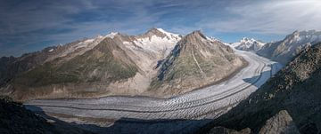 Gletsjer Panorama van Markus Stauffer