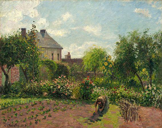 Tuin van de Kunstenaar in Eragny, Camille Pissarro