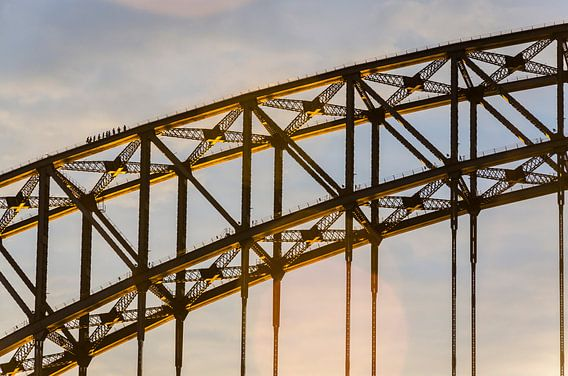 Sydney Harbour Bridge Walk, Australië van Sven Wildschut