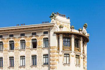 Wienzeilenhäuser von Otto Wagner in Wien von Werner Dieterich