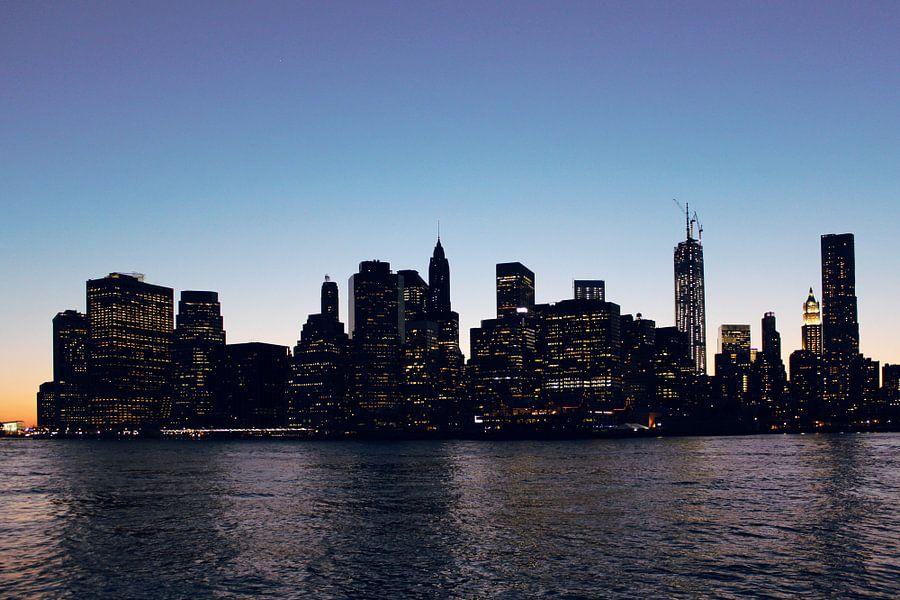 Avond in New York