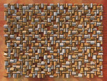 Relief H3 Käse von Frans Blok
