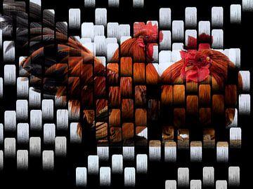 Mit den Hühnern am Stiel 1 von Greta Lipman