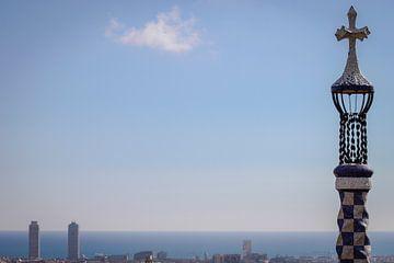 Barcelona from Park Guell von Karina Alvarenga
