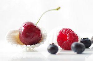 Vers zomerfruit stilleven