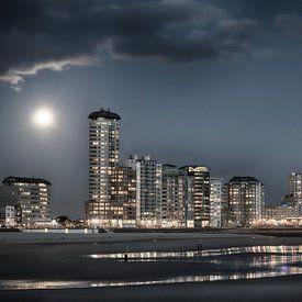 Vlissingen Skyline  van Vandain Fotografie