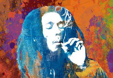Bob Marley von Stephen Chambers
