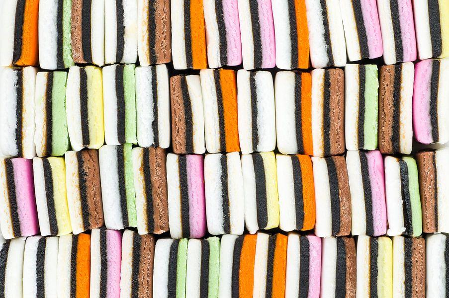 Engelse drop - abstracte foto van Wijnand Loven