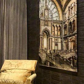 Kundenfoto: die Tore des Himmels  von Jan de Vries, auf acrylglas
