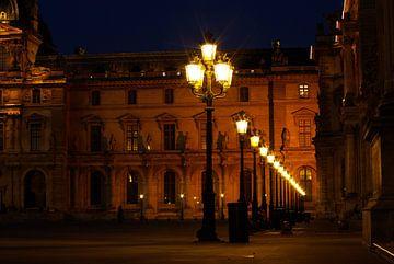 Louvre museum Parijs - oostzijde von KaHoo Wong