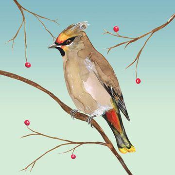 Pestvogel van Bianca Wisseloo