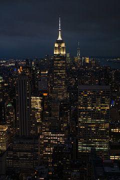 New York City by Night sur Nynke Altenburg