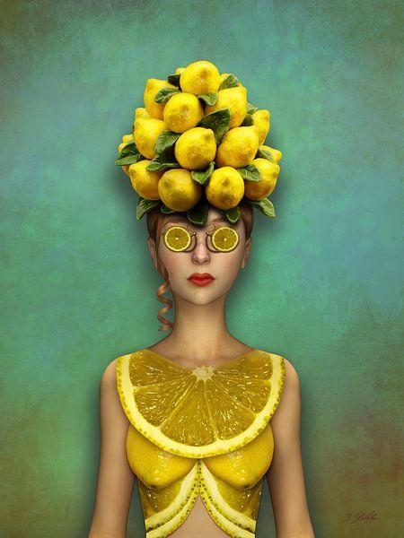Limonen Frau von Britta Glodde