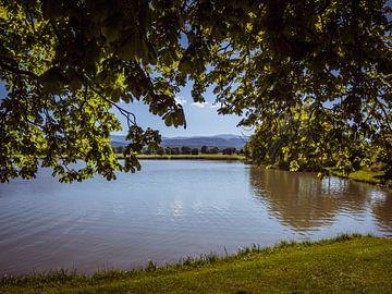 Lac de baignade dans le parc naturel du Harz en Saxe-Anhalt sur Animaflora PicsStock