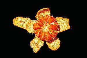 Gepelde mandarijn