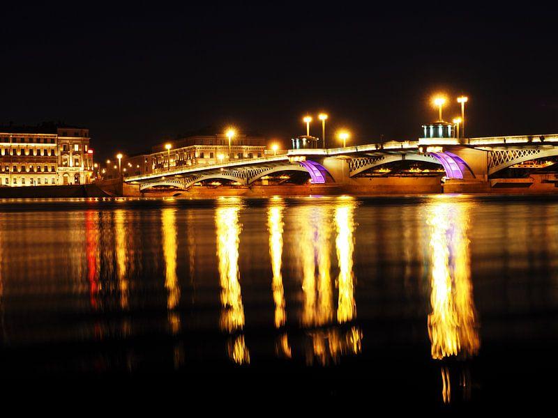 Bridge de nuit sur Atelier Liesjes