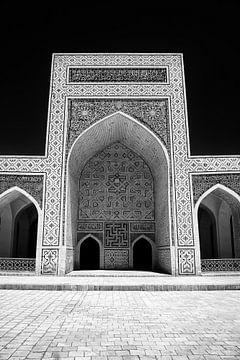 Teil der Poi Kalyan Moschee in Buchara, Usbekistan. von Yvonne Smits