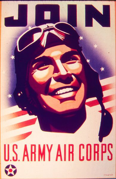 Wervingposter WW2 van Brian Morgan