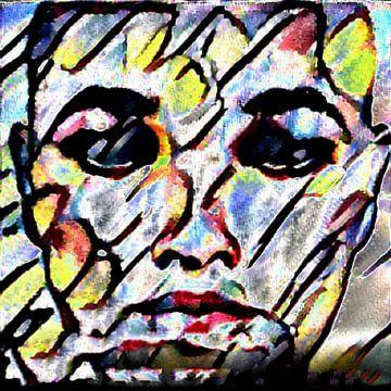 Abstract Inspiratie LXXII van Maurice Dawson