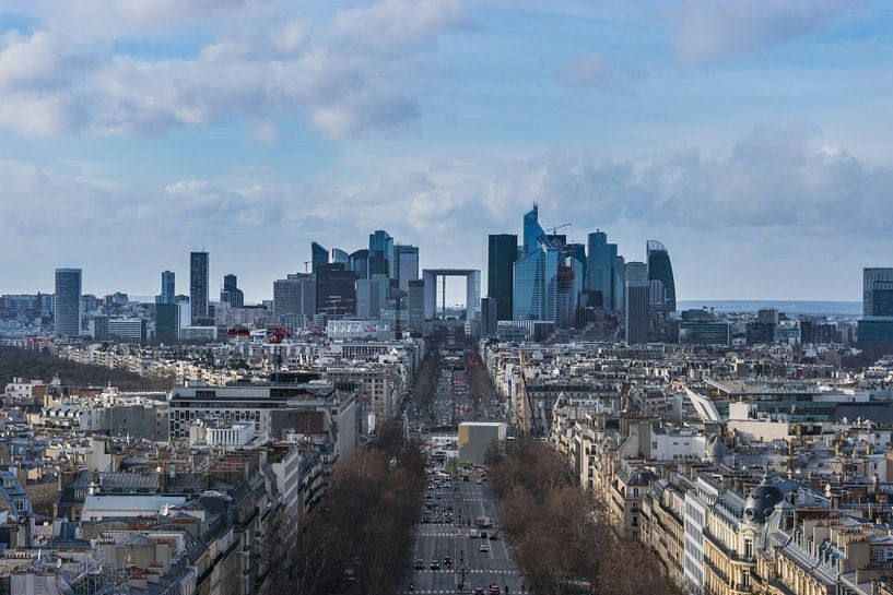 Parijs, La Défense van Patrick Verhoef