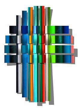 Gekleurde lijnen van Yvonne Smits
