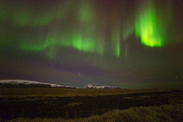Northern Lights (aurores boréales) en Islande sur