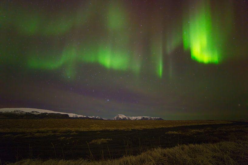 Aurore boréale (Northern Lights) en Islande sur Anton de Zeeuw