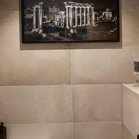 Klantfoto: Forum Romanum van Eus Driessen, als ingelijste fotoprint