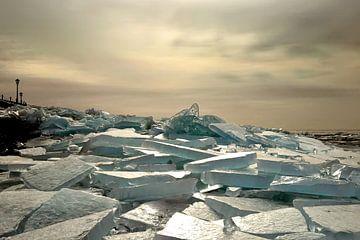 Kruiend ijs van Anja Jooren