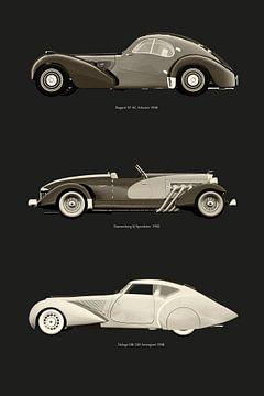 Revolutinaire Europese auto-ontwerpen II