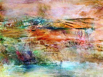 abstrakte Landschaft von Claudia Gründler