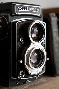 Alte Rolleicord Spiegelreflexkamera.