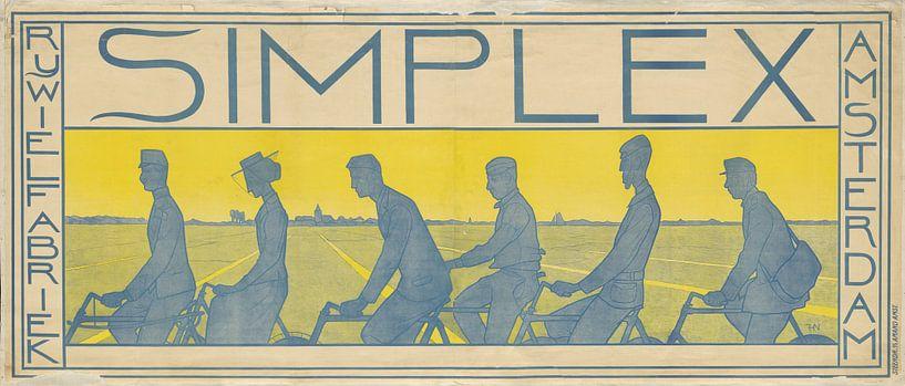 Simplex Snel Sterk, Ferdinand Hart Nibbrig, 1897 van 1000 Schilderijen